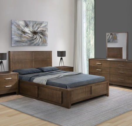 Ensemble de chambre grand lit Industrie Villageois (091099+++091113)