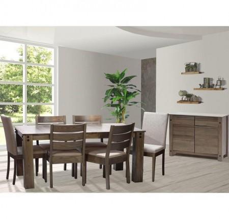 Table de style industriel loft de Arboit et Politras 090778