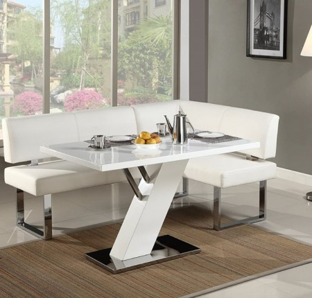 Table et banquette Linden de Chintaly