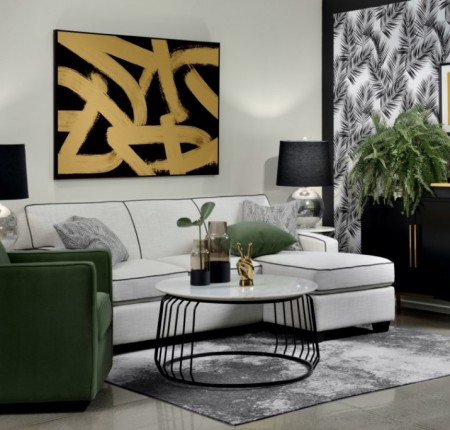 Sofa-lit Decor-Rest® avec chaise longue (092130)